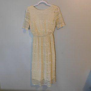 ASOS cream Dress